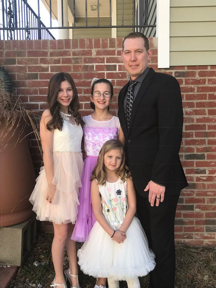 Christian and His Daughters